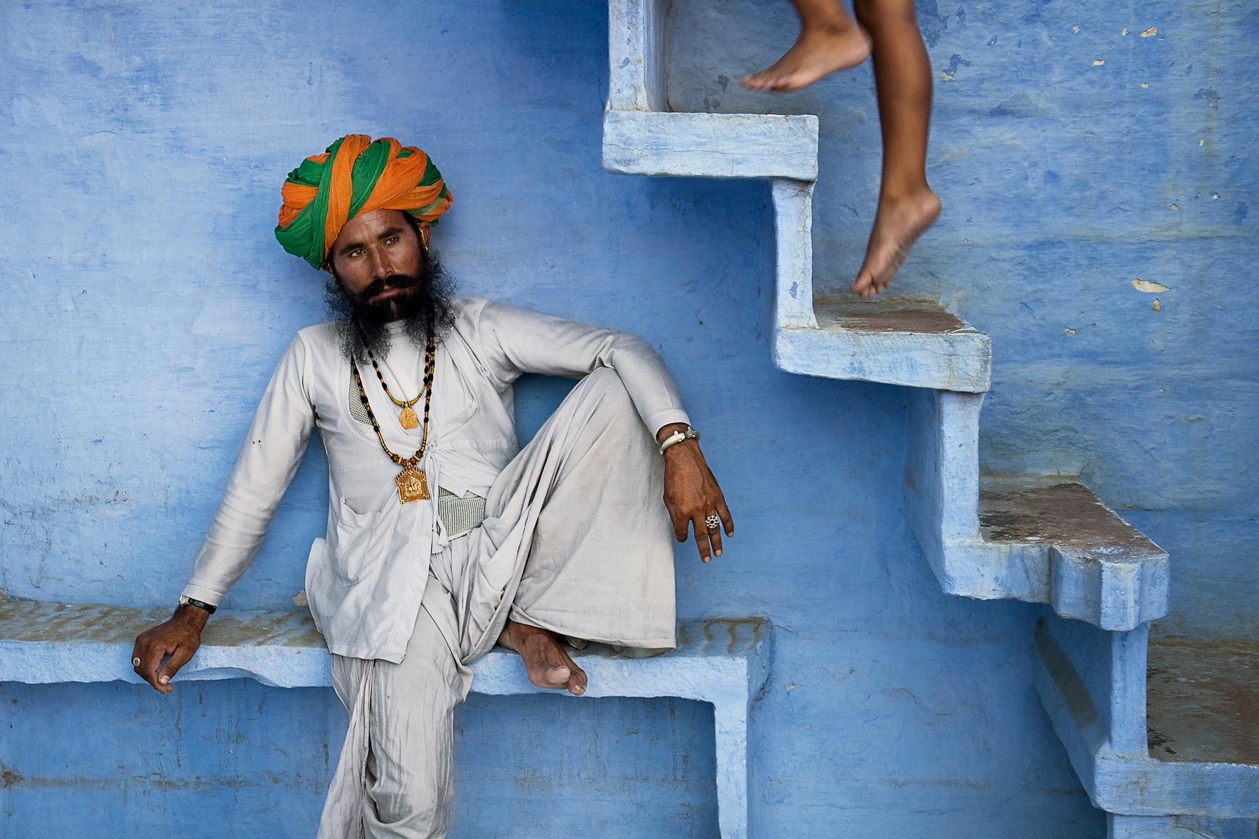 Steve McCurry's Magical Blue City Of Jodhpur