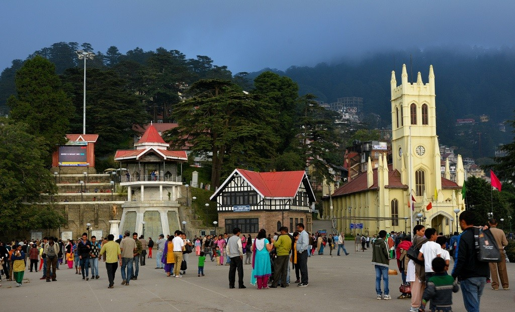 Ridge Shimla_Flickr