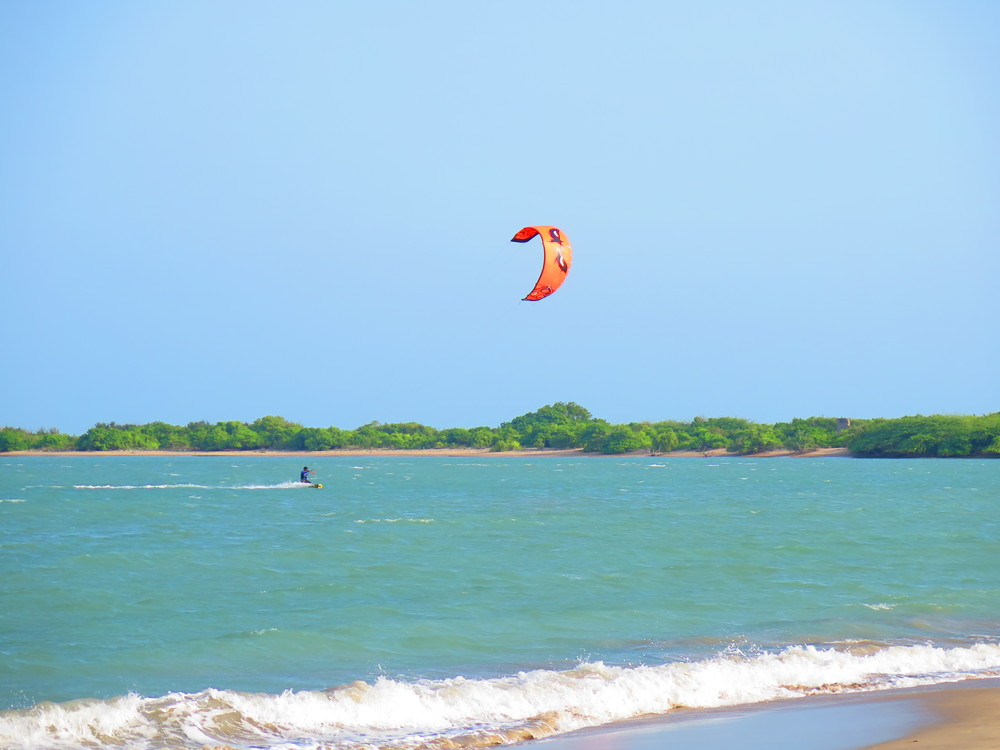Kitesurfing India
